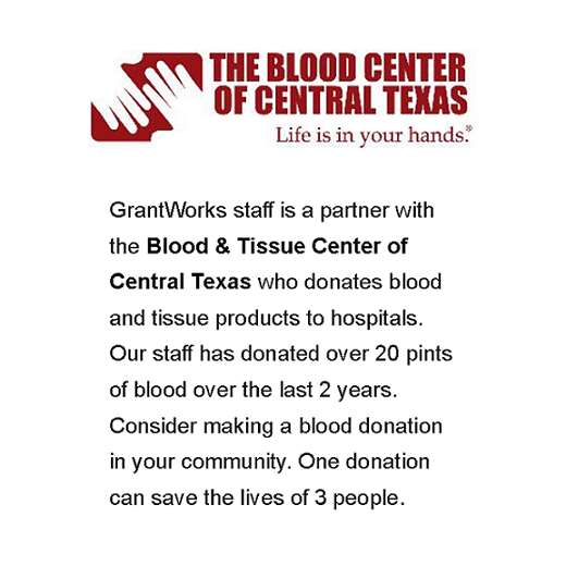GrantWorks Blood Drive 2016